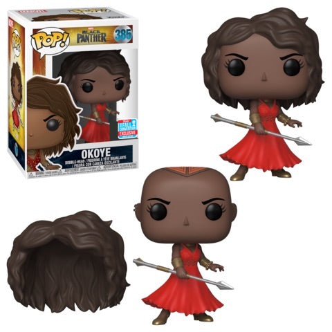 Funko POP! Black Panther - Okoye (Red Dress) Vinyl Figure #385 2018 Fall Exclusive [READ DESCRIPTION]