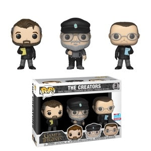 Funko POP! Game of Thrones - The Creators 3-Pack Vinyl Figure 2018 Fall Convention Exclusive [READ DESCRIPTION]