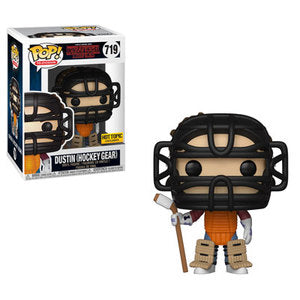 Funko POP! Stranger Things - Dustin (Hockey Gear) Vinyl Figure #719 Hot Topic Exclusive [READ DESCRIPTION]