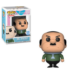 Funko POP! The Jetsons - Mr. Spacely Vinyl Figure #513 Funko Shop Exclusive [READ DESCRIPTION]