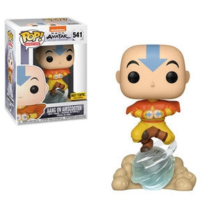 Funko POP! Avatar: The Last Airbender - Aang on Airscooter Vinyl Figure #541 Hot Topic Exclusive (NOT 100% MINT)