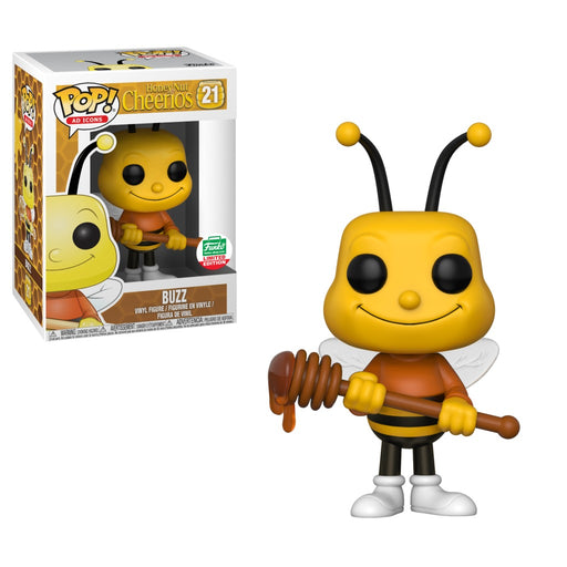 Funko POP! Ad Icons: Honey Nut Cheerios - Buzz Bee Vinyl Figure #21 Funko-Shop Exclusive (NOT 100% MINT)
