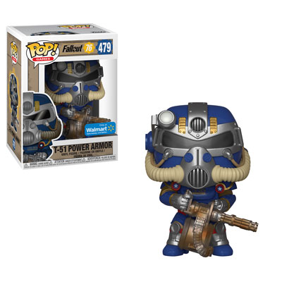 Funko POP! Fallout 76 - T-51 Power Armor Vinyl Figure #479 Walmart Exclusive (NOT 100% MINT)