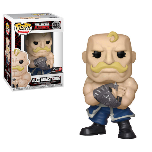 Funko POP! Fullmetal Alchemist - Alex Armstrong Vinyl Figure #433 GameStop Exclusive (NOT 100% MINT)