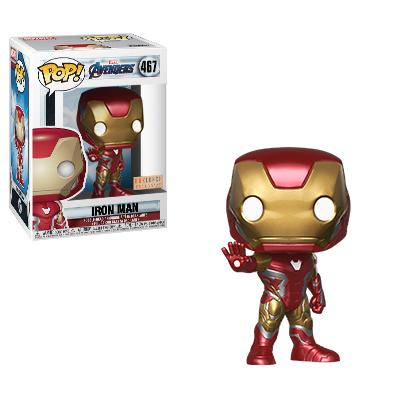 Funko POP! Avengers: Endgame - Iron Man Vinyl Figure #467 Box Lunch Exclusive (NOT 100% MINT)