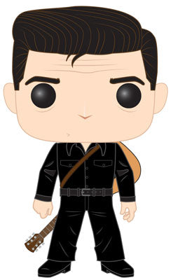 Funko POP! Rocks: Johnny Cash - Johnny Cash In Black Vinyl Figure