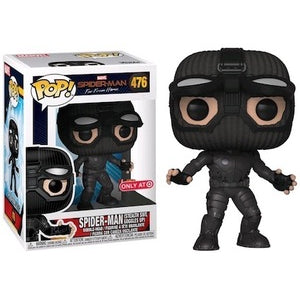 Funko POP! Spider-Man: Far From Home - Spider-Man (Stealth Suit, Goggles Up) Vinyl Figure #476 Target Exclusive [READ DESCRIPTION]