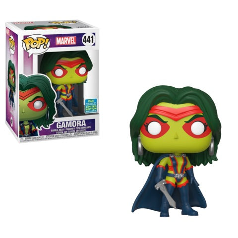 Funko POP! Marvel - Gamora (Comics) Vinyl Figure #441 2019 Summer Convention Exclusive (NOT 100% MINT)