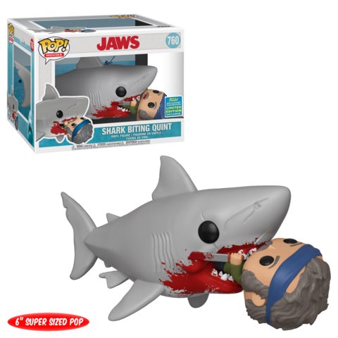 Funko POP! Jaws Movie Moment - Shark Biting Quint #760 2019 Summer Convention Exclusive