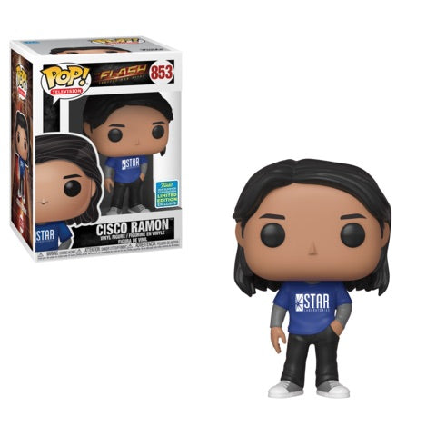 Funko POP! The Flash - Cisco Ramon Vinyl Figure #853 2019 Summer Convention Exclusive (NOT 100% MINT)