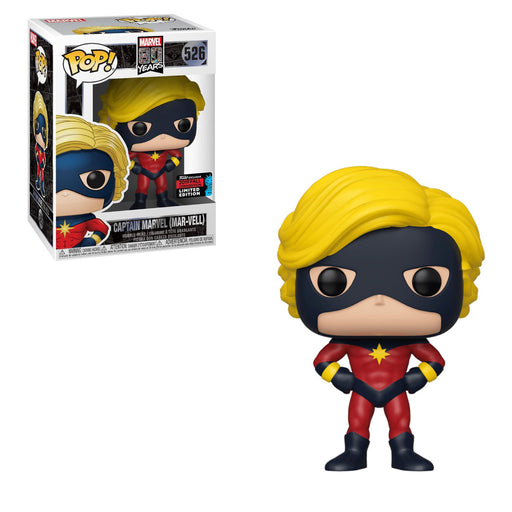 Funko POP! Marvel 80th - First Appearance Captain Marvel (Mar-Vell) Vinyl Figure #526 Fall Convention Exclusive [READ DESCRIPTION]