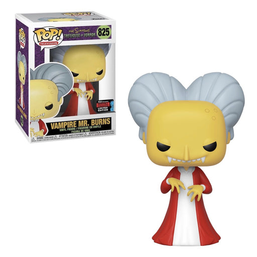 Funko POP! The Simpsons: Treehouse of Horror - Vampire Mr. Burns Vinyl Figure #825 Fall Convention Exclusive [READ DESCRIPTION]