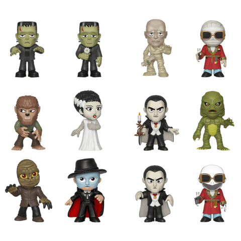 Funko Mystery Minis: Universal Monsters Mystery Minis - Case of 12