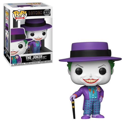 Funko POP! Batman 1989 - Joker with Hat Common Vinyl Figure