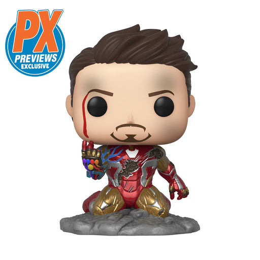 [PRE-ORDER] Funko POP! Avengers: Endgame - I Am Iron Man Glow-In-The-Dark Vinyl Figure Previews Exclusive (PX) [READ DESCRIPTION]