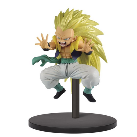 [PRE-ORDER] Banpresto: Dragon Ball Super CHOSENSHIRETSUDEN Vol. 2 - Super Saiyan 3 Gotenks Figure