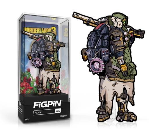Borderlands 3 Collectible Pin with Premium Display Case Zane FiGPiN