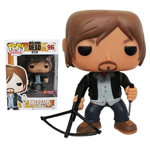 Funko POP! The Walking Dead - Biker Daryl Vinyl Figure Previews Exclusive (PX) #96 [READ DESCRIPTION]