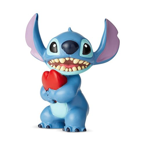 Disney Showcase: Lilo & Stitch - Stitch with Heart Mini Figurine