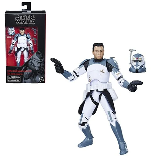 Star Wars The Black Series Clone Commander Bly 6-Inch Action Figure HSE6064