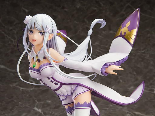 Good Smile Company: Re:Zero - Starting Life in Another World- Emilia 1/7 Scale Figure