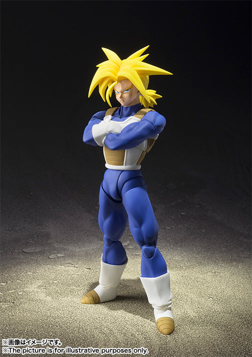 Tamashii Nations S.H. Figuarts: Dragon Ball Z - Super Saiyan Trunks