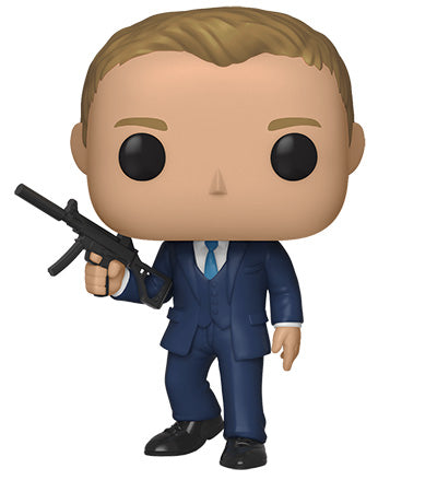 Funko POP! James Bond S2 - Daniel Craig (Quantum of Solace) Vinyl Figure