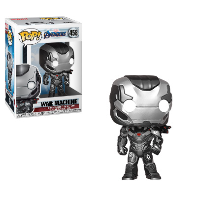 Funko POP! Avengers: Endgame - War Machine Vinyl Figure #458