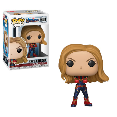 Funko POP! Avengers: Endgame - Captain Marvel Vinyl Figure #459