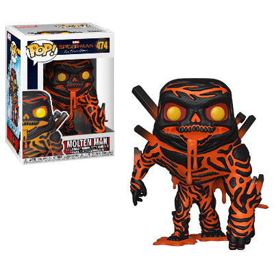 Funko POP! Spider-Man: Far From Home - Molten Man Vinyl Figure #474