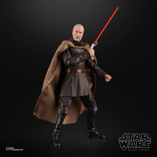 Star Wars: The Black Series - Count Dooku (Attack of the Clones) 6-Inch Action Figure #107