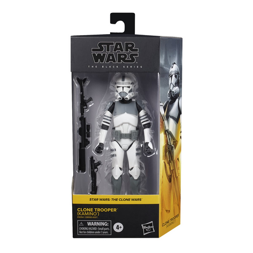 Star Wars: The Black Series - Clone Trooper (Kamino) (The Clone Wars) 6-Inch Action Figure