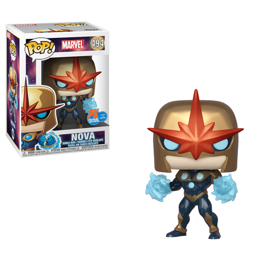 Funko POP! Marvel - Nova Vinyl Figure Previews Exclusive (PX) #494 [NOT 100% MINT]
