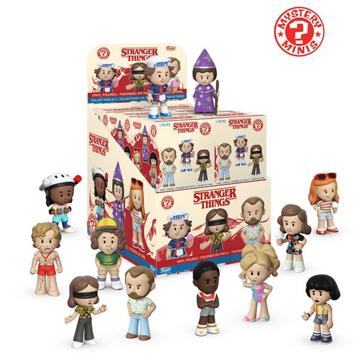 Funko Mystery Minis: Stranger Things Season 3 Mystery Minis - Case of 12