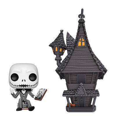 Funko POP! Town: Nightmare Before Christmas - Jack with Jack's House #7