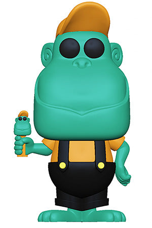 Funko POP! Ad Icons PEZ- Mimic the Monkey (Teal) Vinyl Figure