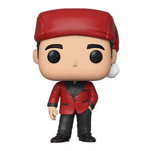 Funko POP! The Office - Michael as Classy Santa Vinyl Figure