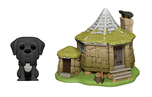 [PRE-ORDER] Funko POP! Town: Harry Potter - Hagrid's Hut with Fang