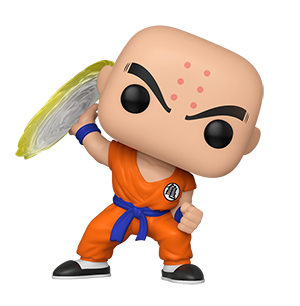 Funko POP! Dragon Ball Z S7 - Krillin with Destructo Disc Vinyl Figure