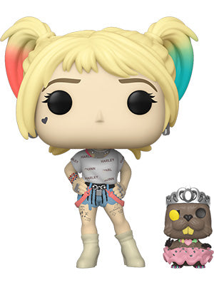 [PRE-ORDER] Funko POP! Birds of Prey - Harley Quinn with Beaver Vinyl Figure