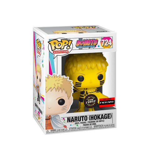 Funko POP! Boruto: Naruto Next Generations - Naruto (Hokage) Chase #724 AAA Anime Exclusive [READ DESCRIPTION]