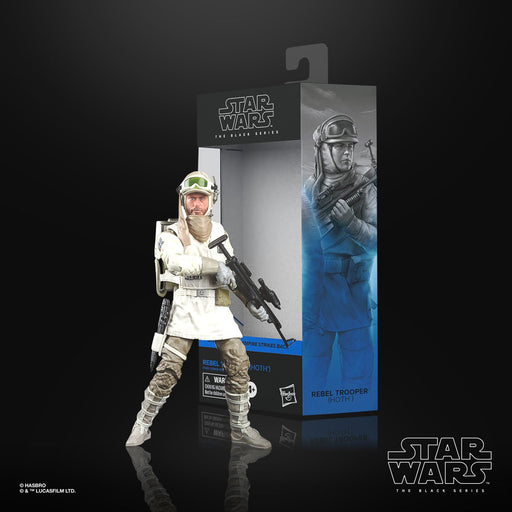 Star Wars: The Black Series - Rebel Trooper (Hoth) (The Empire Strike Back) 6-Inch Action Figure