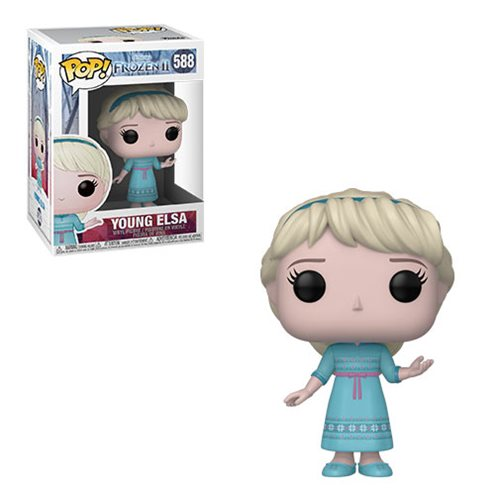 Funko POP! Frozen 2 - Young Elsa Vinyl Figure #588