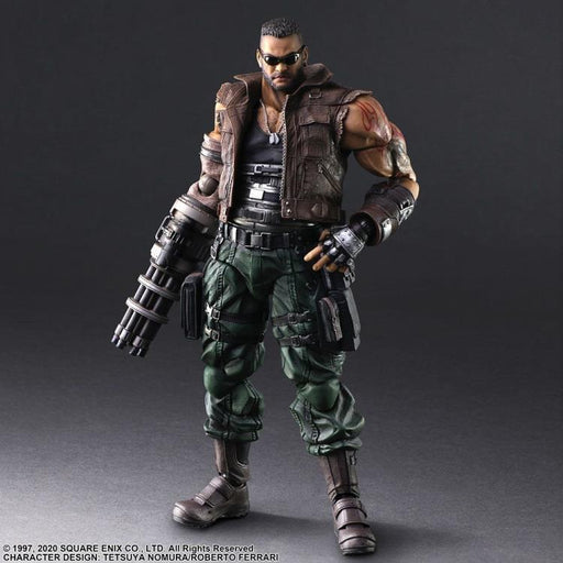 [PRE-ORDER] SQUARE ENIX: FINAL FANTASY® VII REMAKE PLAY ARTS -KAI- ™ - Barret Wallace (Version 2) Action Figure