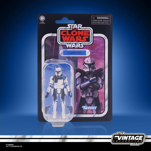 Star Wars: The Vintage Collection - Captain Rex (Clone Wars) 3 3/4-Inch Action Figure