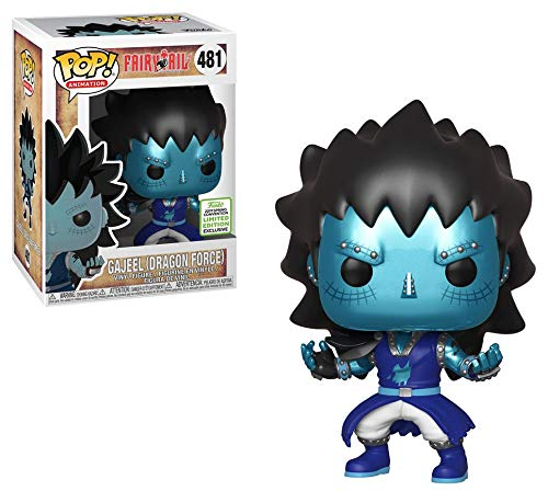 Funko POP! Fairy Tail - Gajeel (Dragon Force) Vinyl Figure #481 2019 Spring Convention Exclusive (NOT 100% MINT)