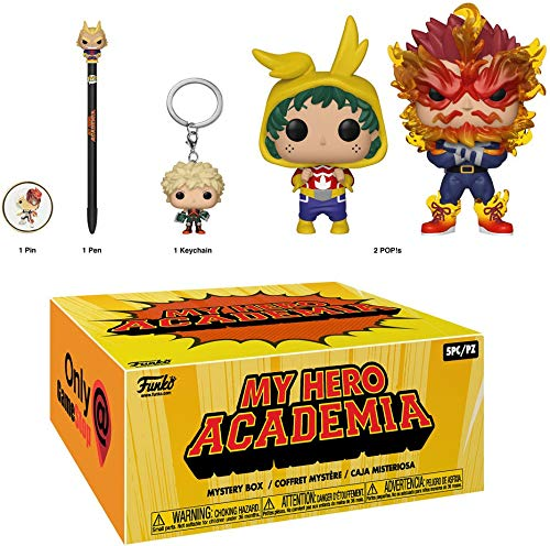 Funko POP! My Hero Academia - Funko Box GameStop Exclusive (Sealed) (NOT 100% MINT)