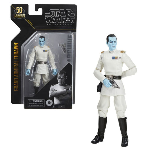 Star Wars: The Black Series Archive - Grand Admiral Thrawn 6-Inch Action Figure