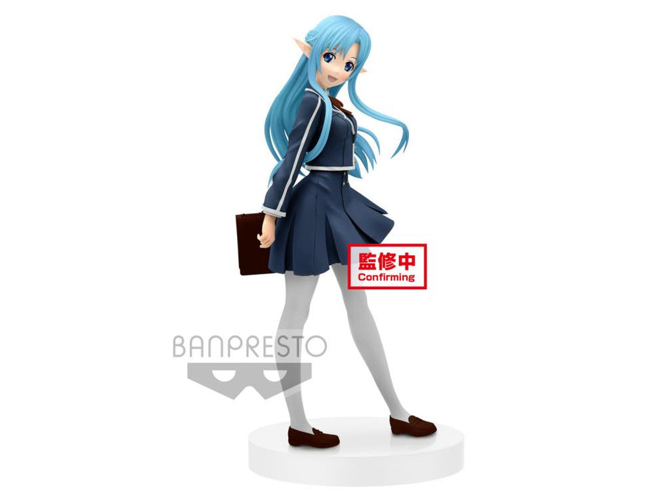 Banpresto: Sword Art Online - Asuna (School Uniform) EXQ Figure