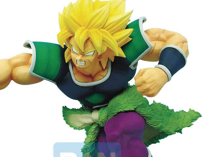 Banpresto: Dragon Ball Super: Broly - Super Saiyan Broly Z-Battle Figure